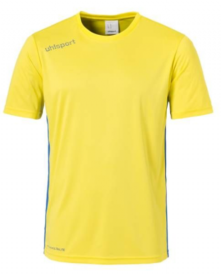 Essential Playing Shirt  Lime Yellow / Azure Blue